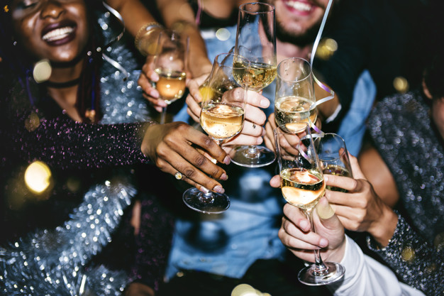 champagne til fest